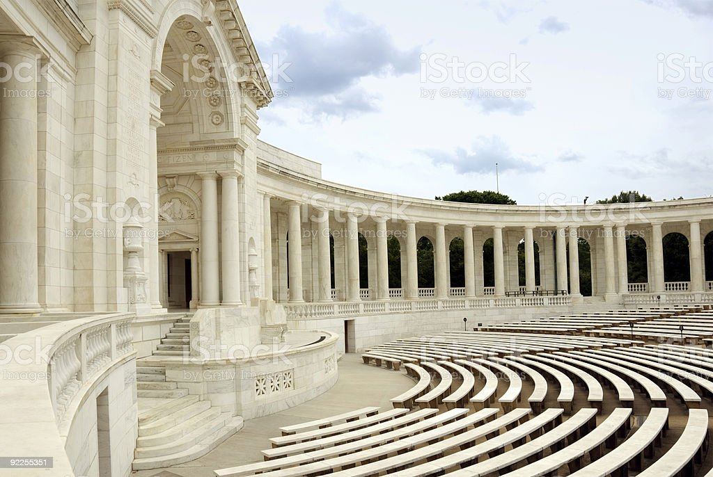Arlington National Cemetery - Auditorium stock photo