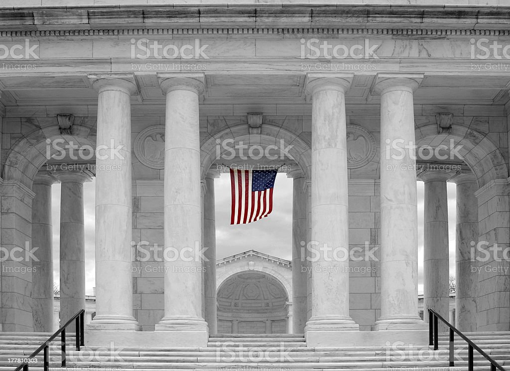 Arlington National Cemetery Coliseum royalty-free stock photo