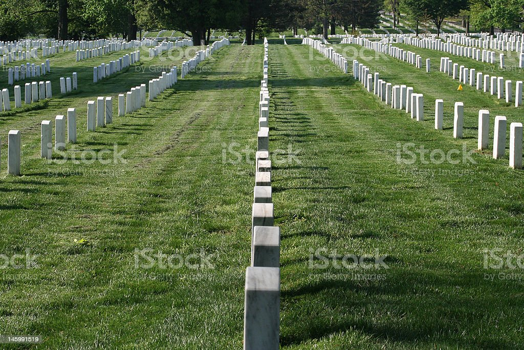 Arlington National Cemetery royalty-free stock photo