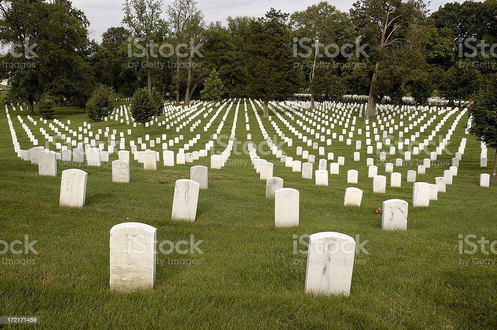 Arlington National Cemetery royalty-free stock photo