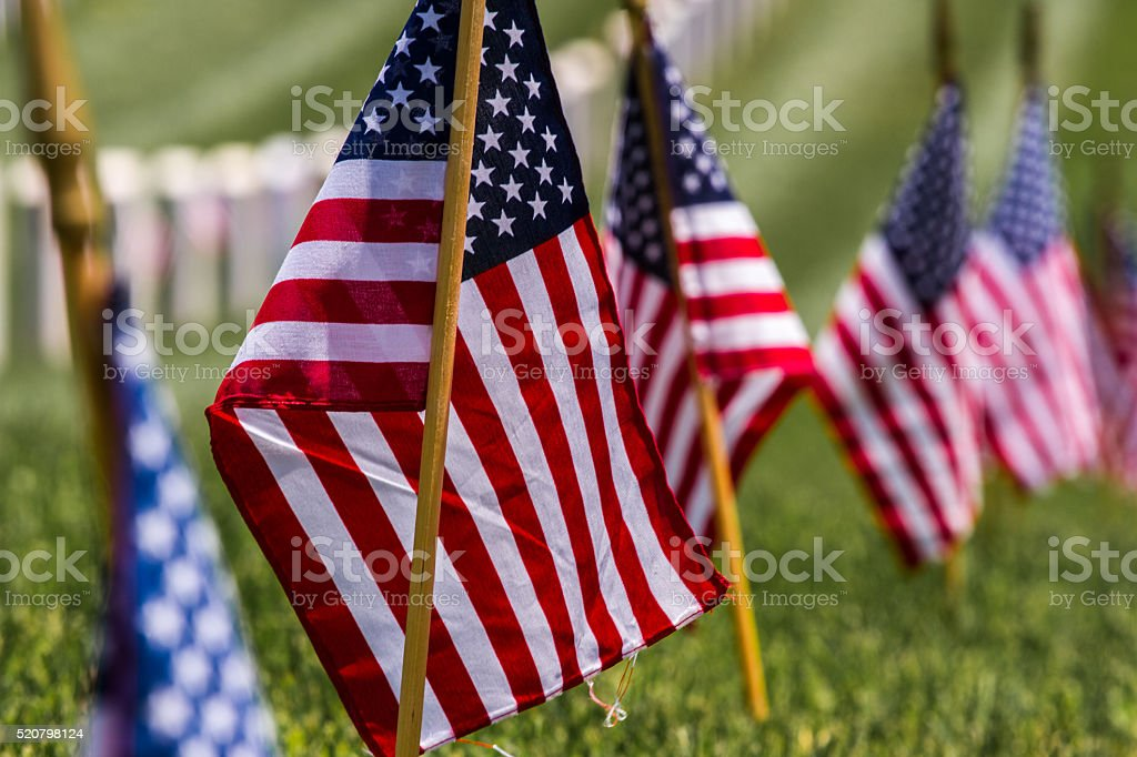 Arlington National Cemetery, Washington D.C. stock photo