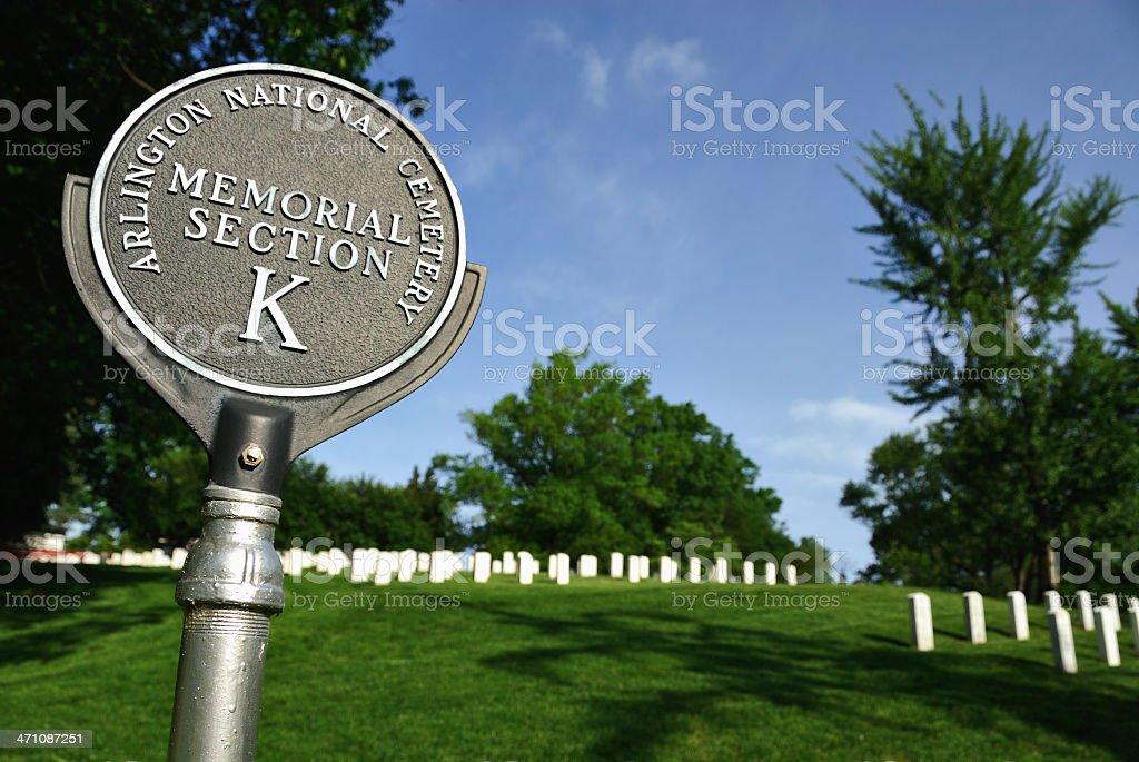 Arlington Section K royalty-free stock photo