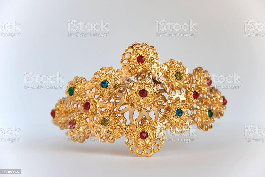 Arm accessory Thai style royalty-free stock photo