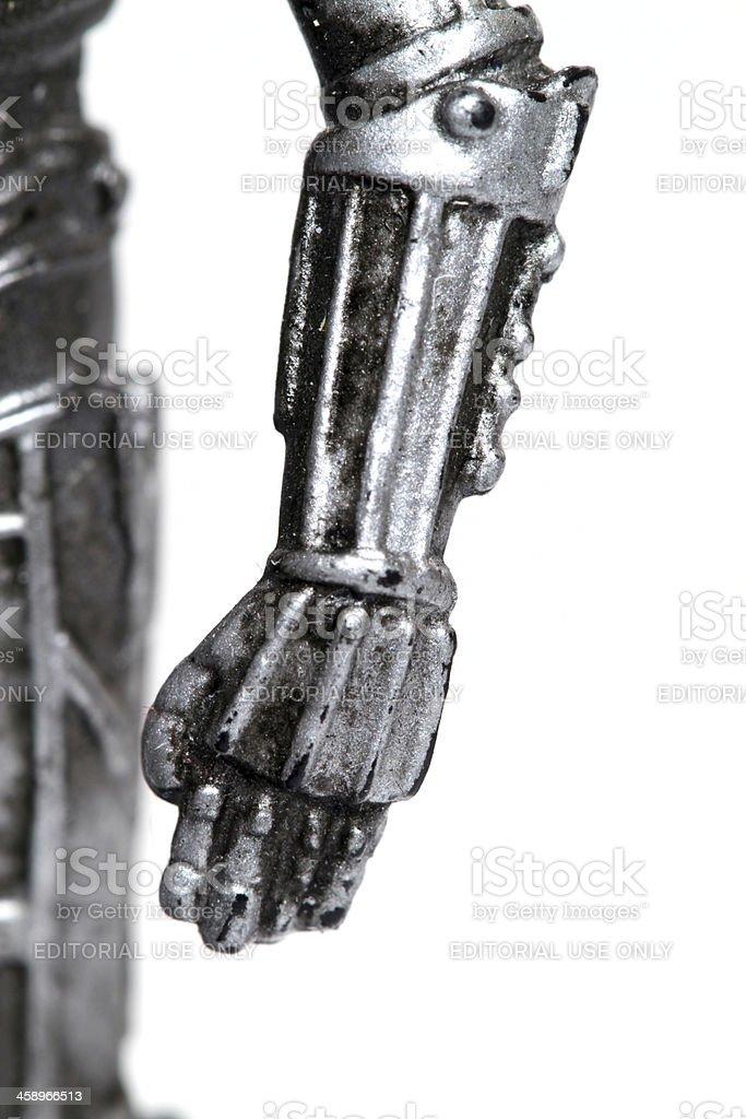 Arm of the Robot Man stock photo