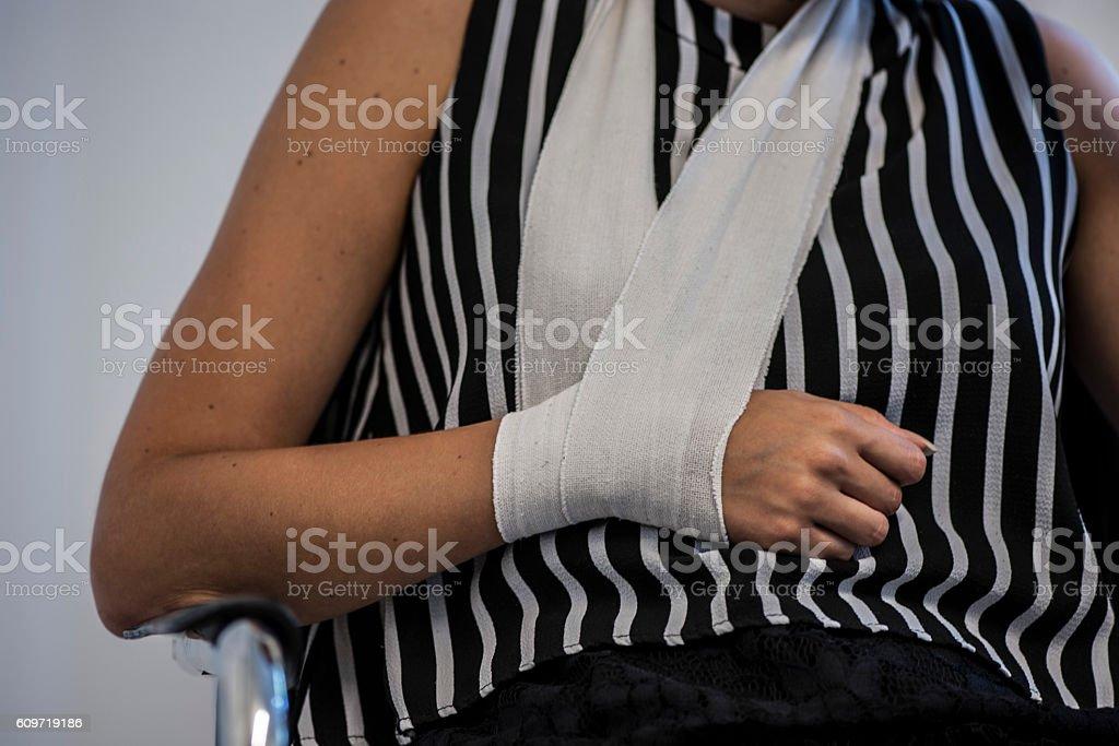 Arm pain stock photo