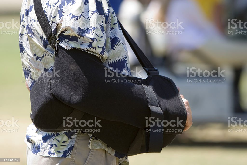 arm sling royalty-free stock photo