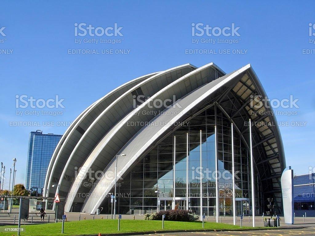 Armadillo SECC Glasgow stock photo