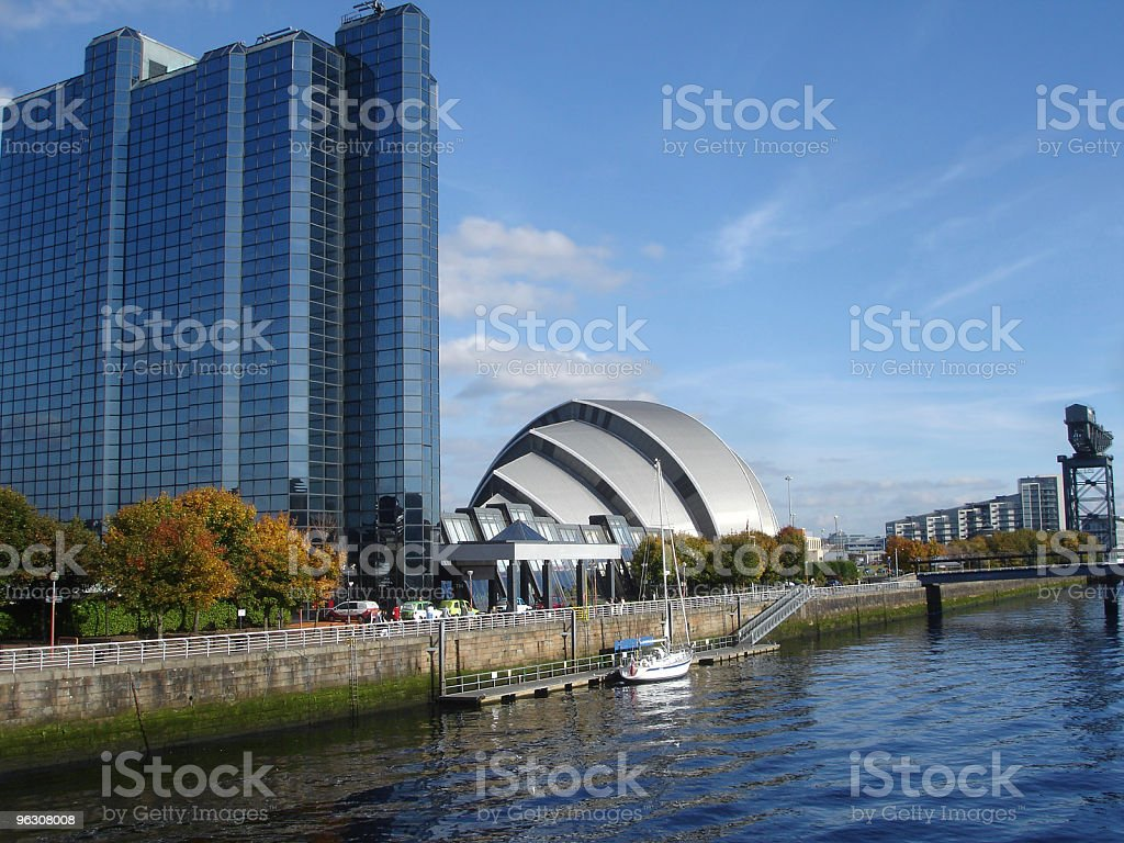 Armadillo, SECC & Hotel, River Clyde, Glasgow stock photo