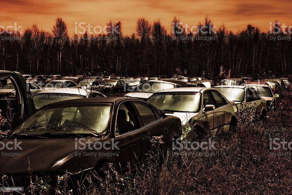Armageddon Day, Dec 22, 2012 stock photo