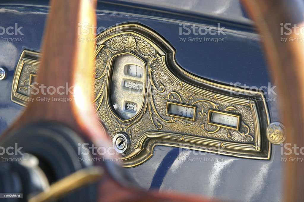 Armaturenbrett royalty-free stock photo