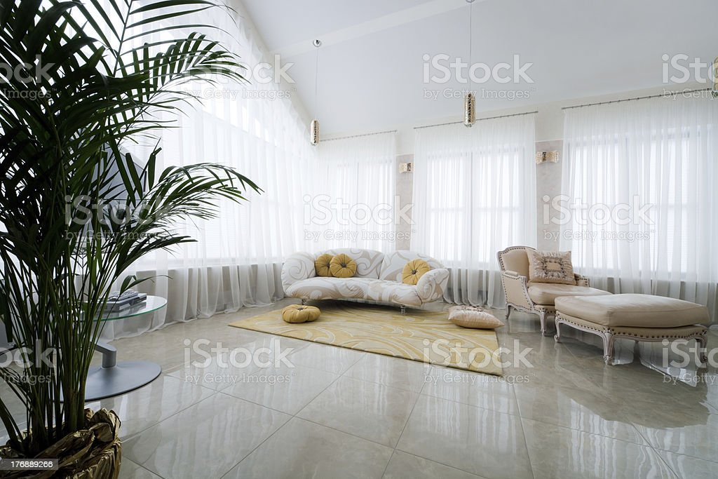 armchair and sofa royalty-free stock photo