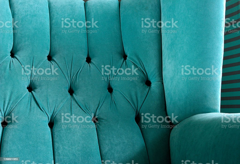 Armchair backrest royalty-free stock photo