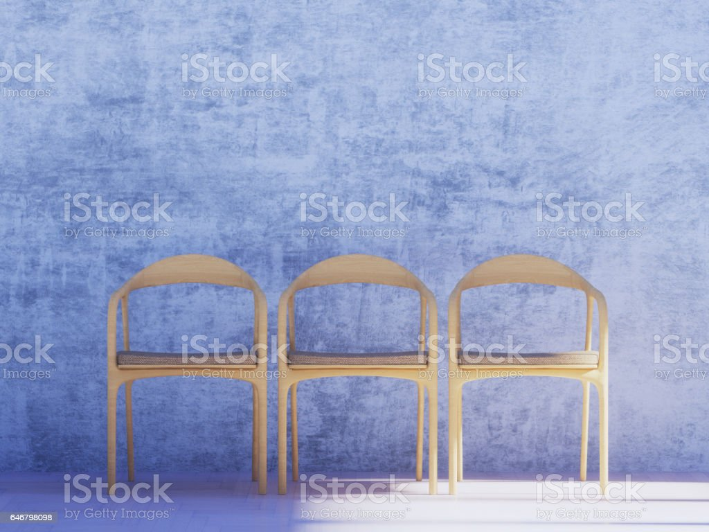 armchair is empty stock photo