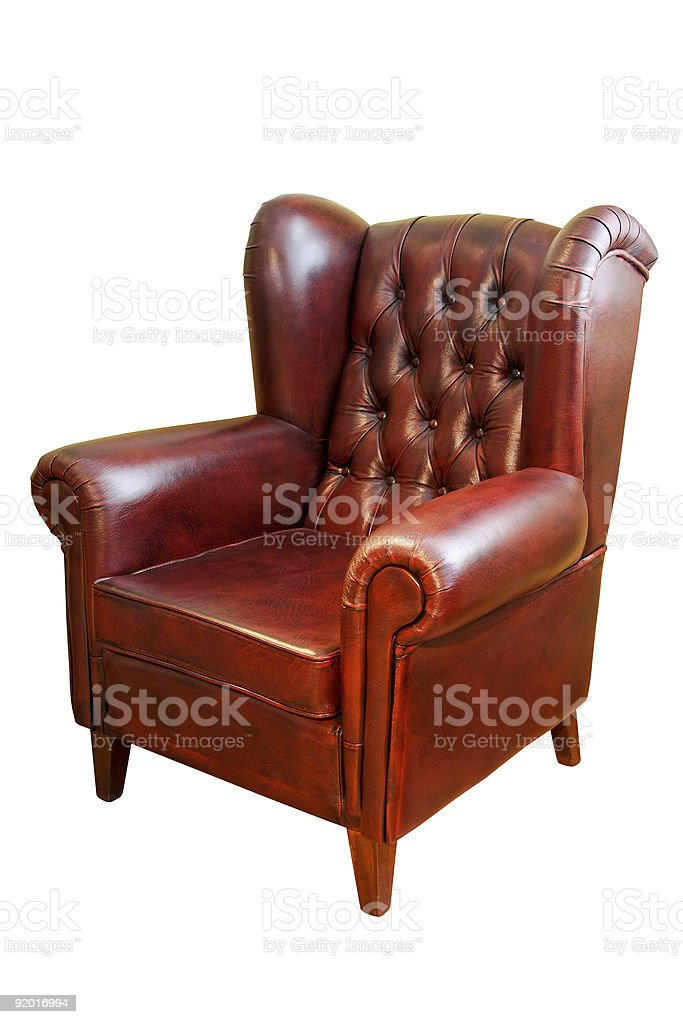 Armchair isolated royalty-free stock photo