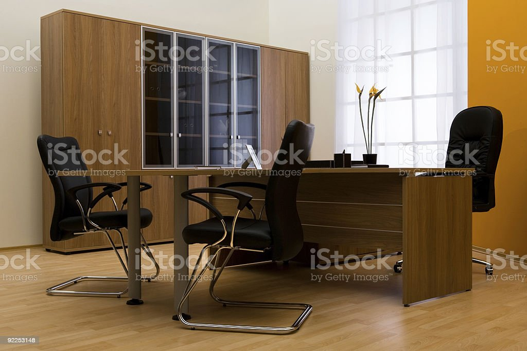 Armchair of director royalty-free stock photo