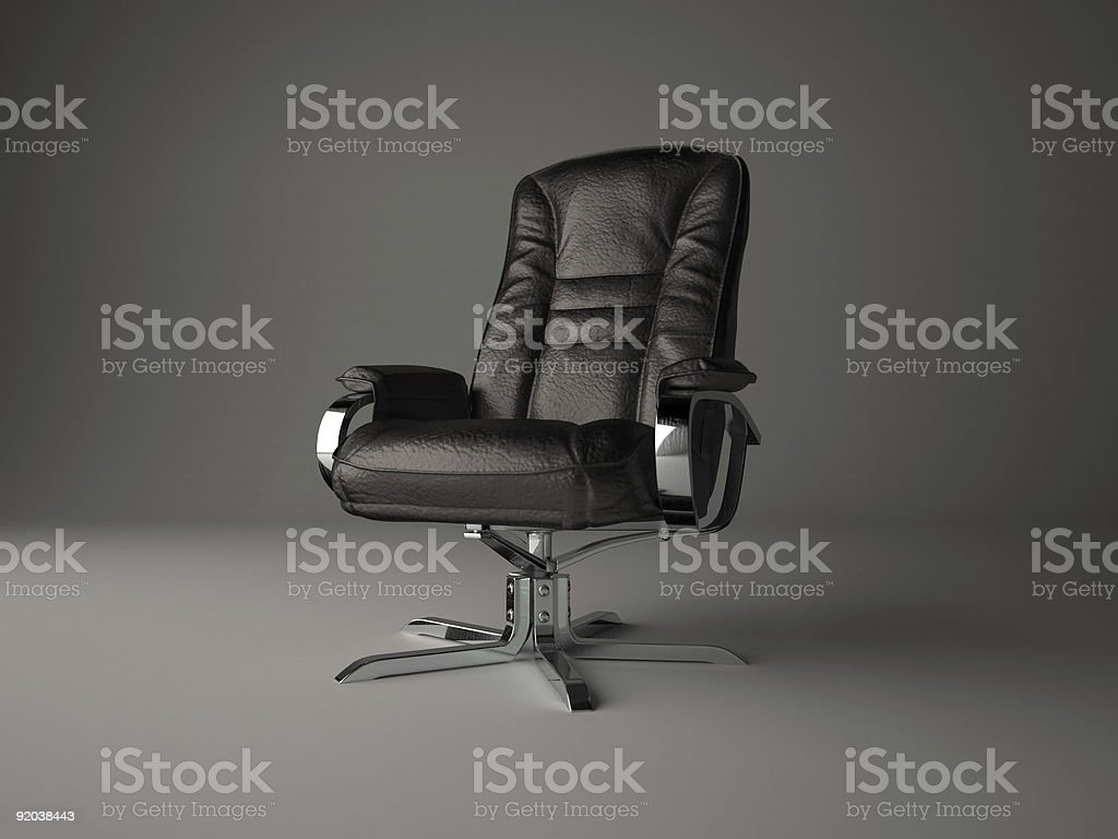Armchair of the director royalty-free stock photo