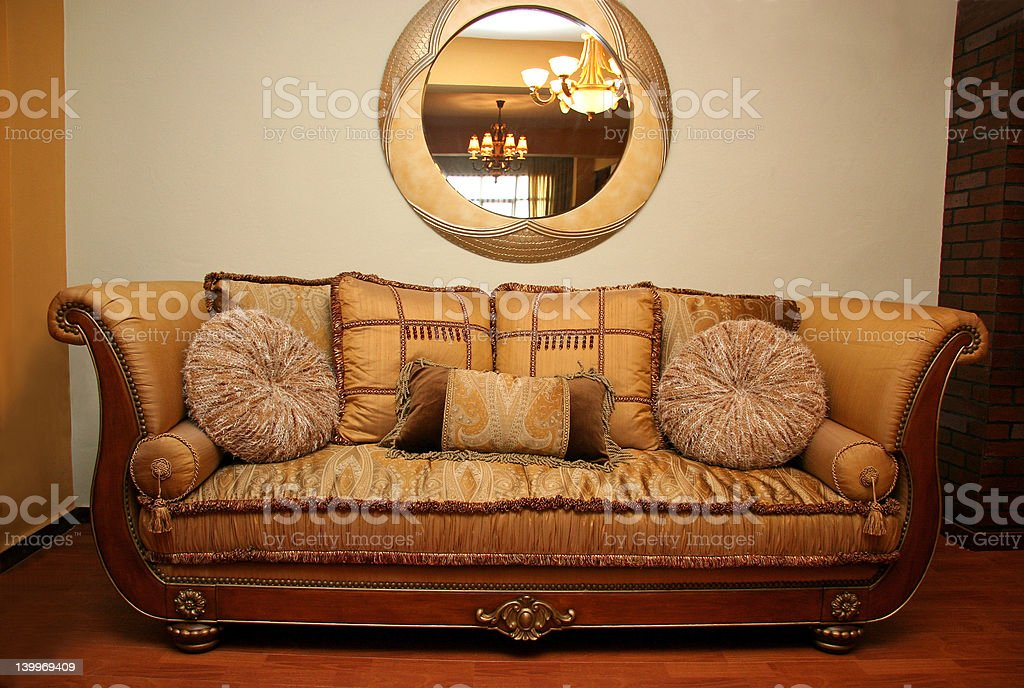 Armchair royalty-free stock photo