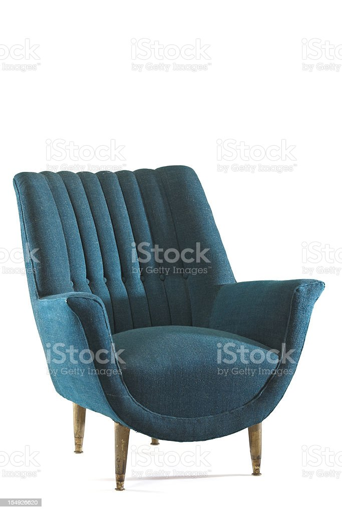 armchair stock photo