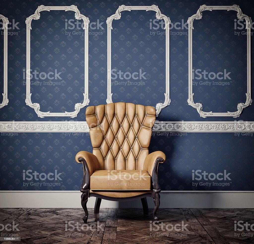 armchair stock photo