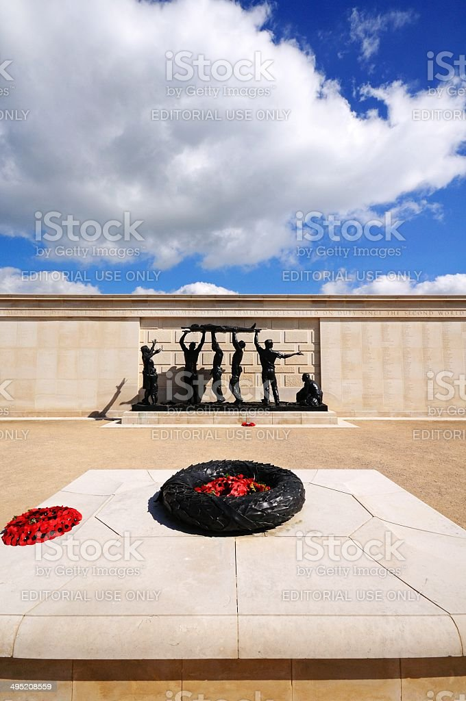 Armed Forces Memorial, Alrewas, UK. royalty-free stock photo