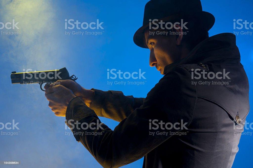 Armed Man royalty-free stock photo