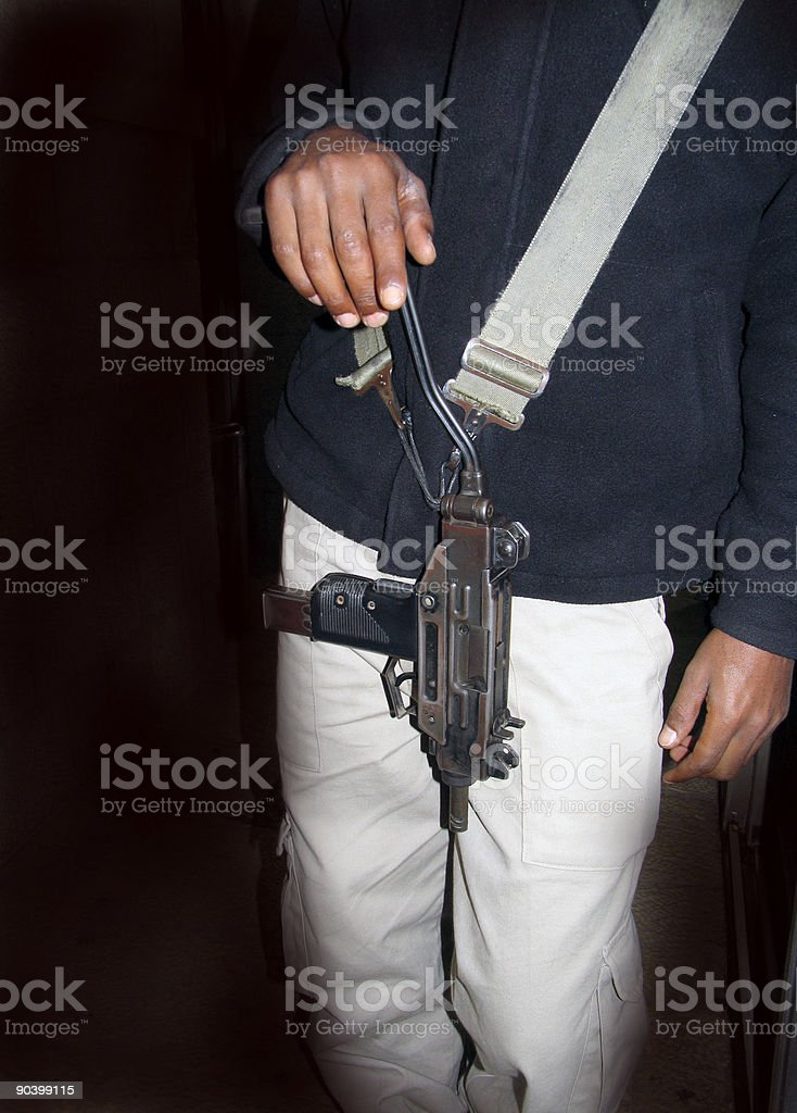 Armed stock photo
