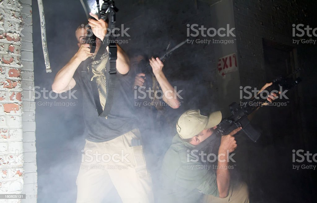 Armed Solider royalty-free stock photo
