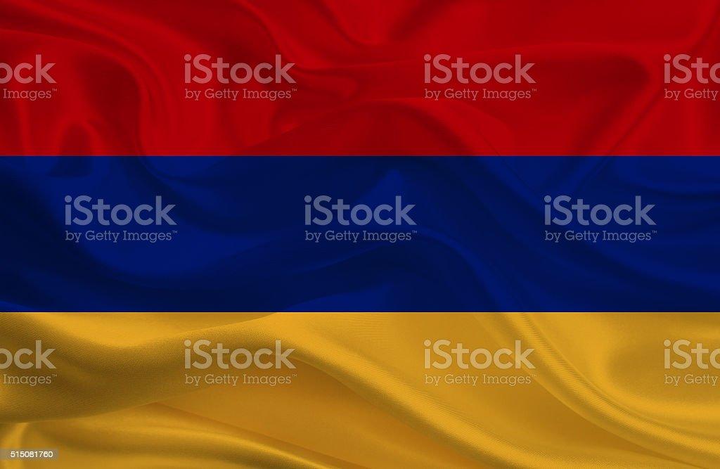 Armenia flag stock photo
