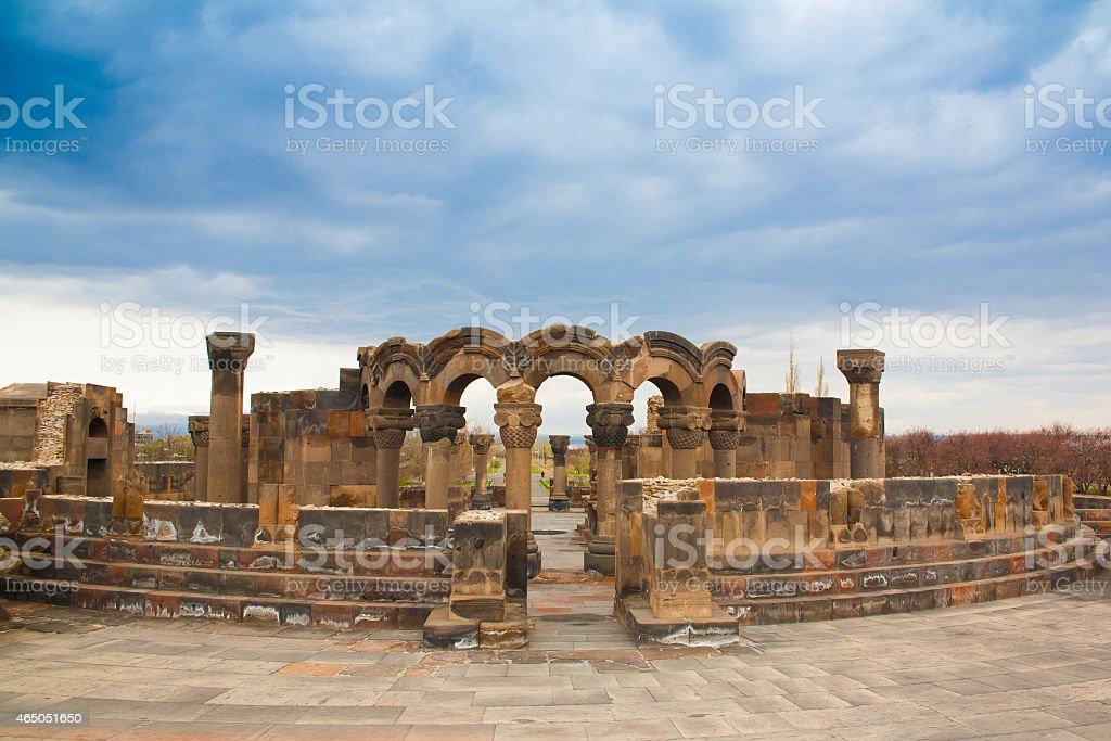 Armenia, Zvartnots stock photo