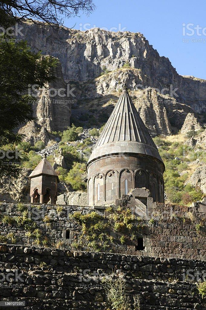 Eglise arménienne photo libre de droits