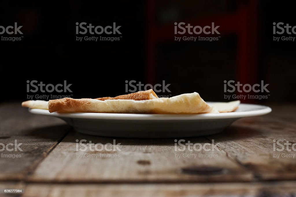 Armenian flatbread lavas. stock photo