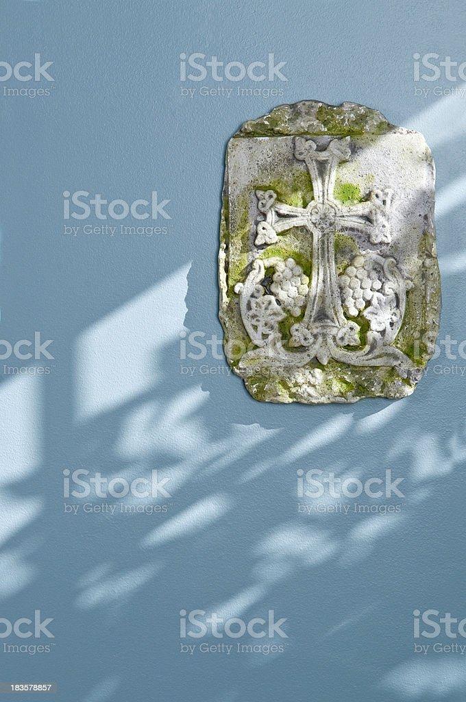 Armenian Stone Cross royalty-free stock photo