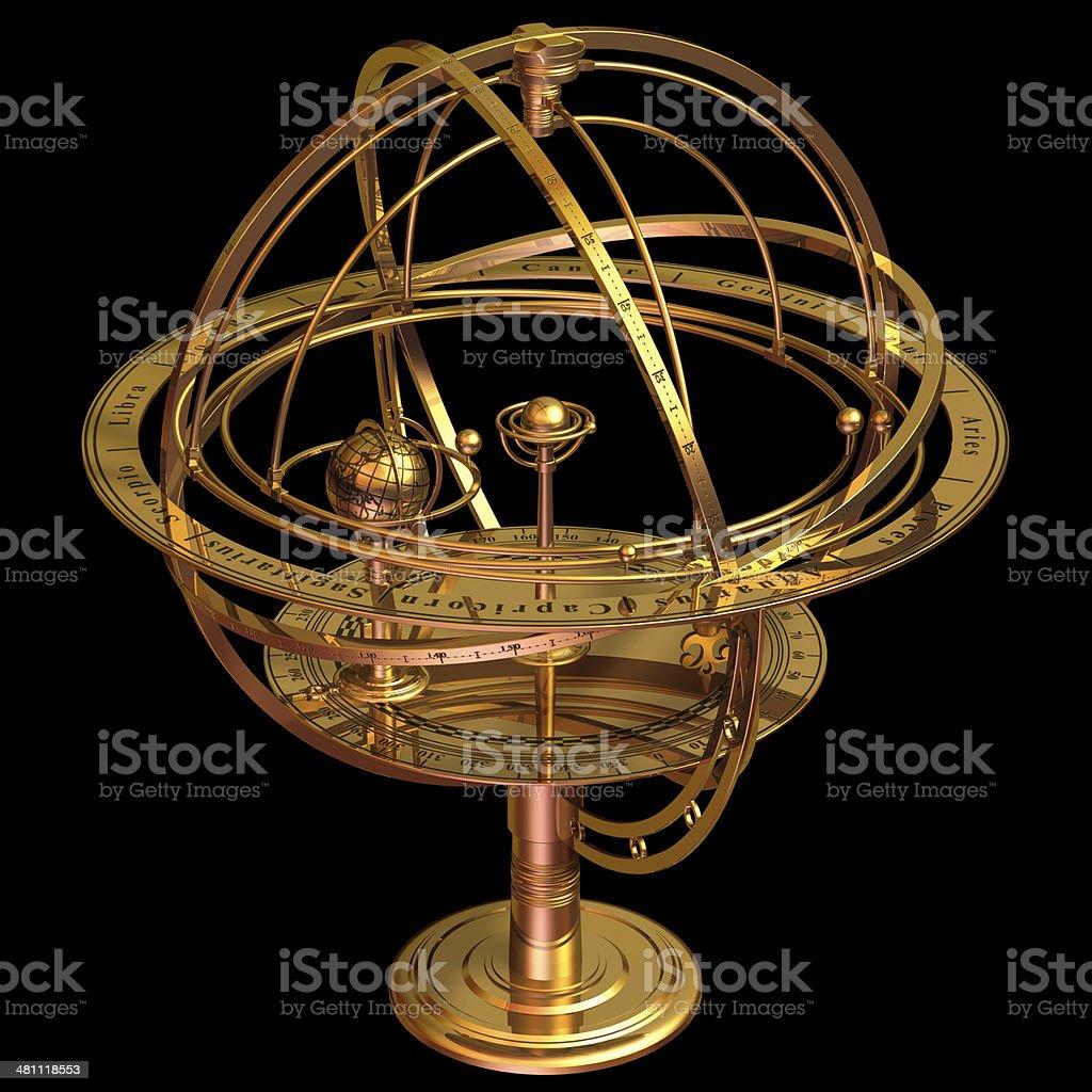 Armillary Sphere stock photo