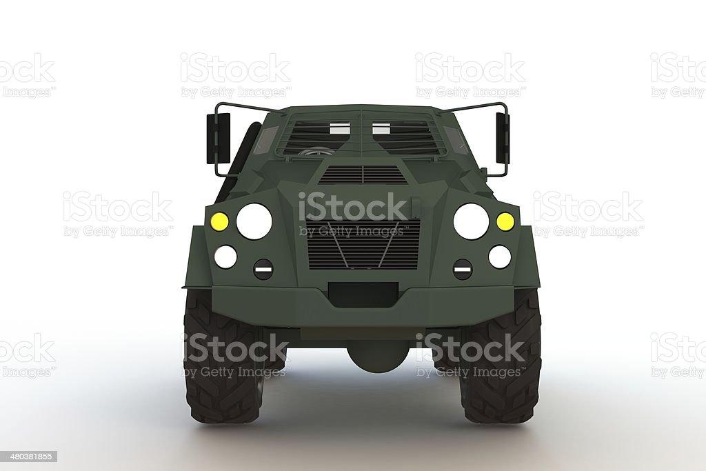 Armor Car royalty-free stock photo