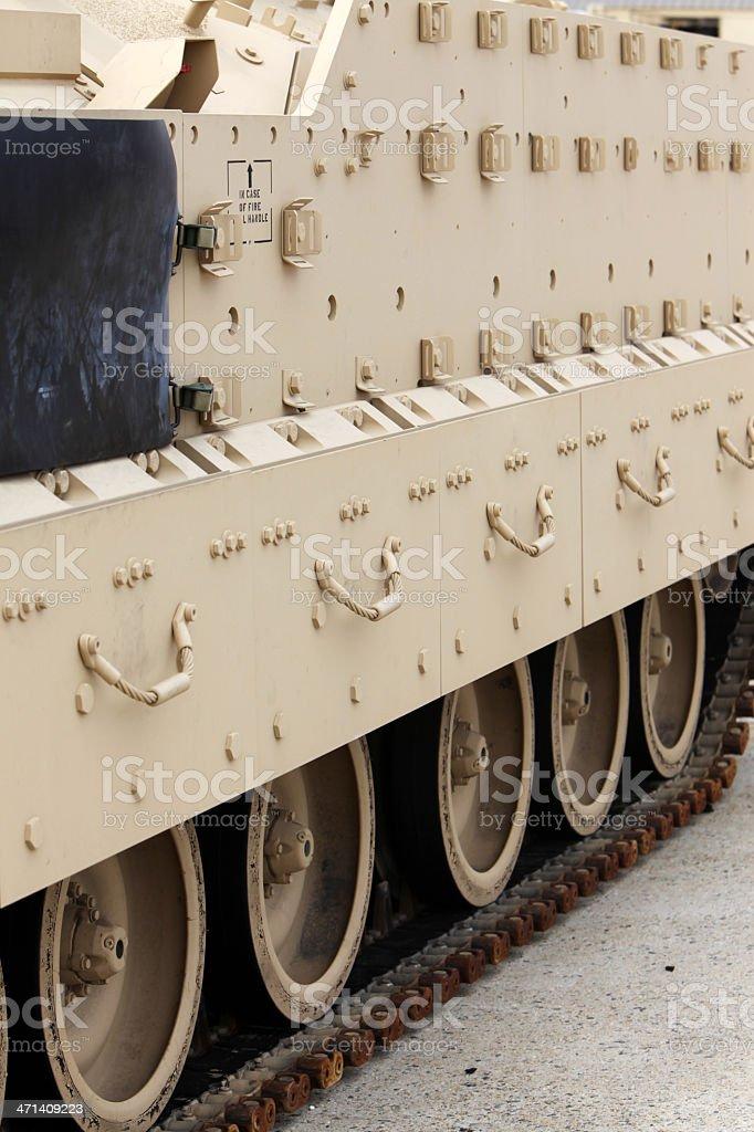 Armor on Amphibious Assault Vehicle royalty-free stock photo