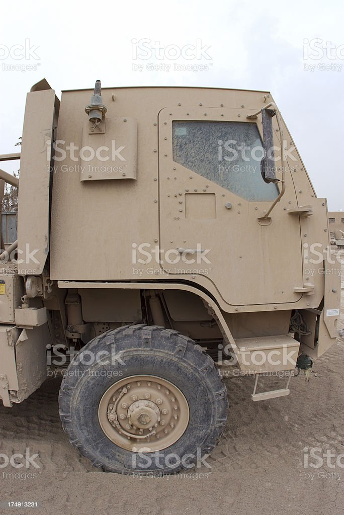 Armor Truck Cab royalty-free stock photo
