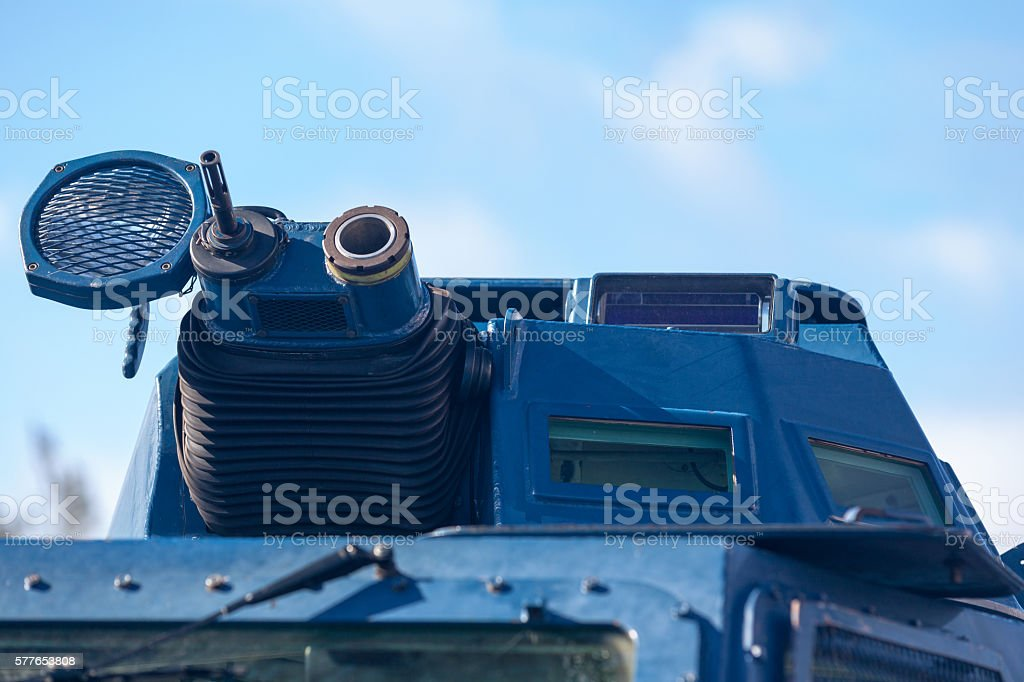 Armored vehicle from the GBGM stock photo