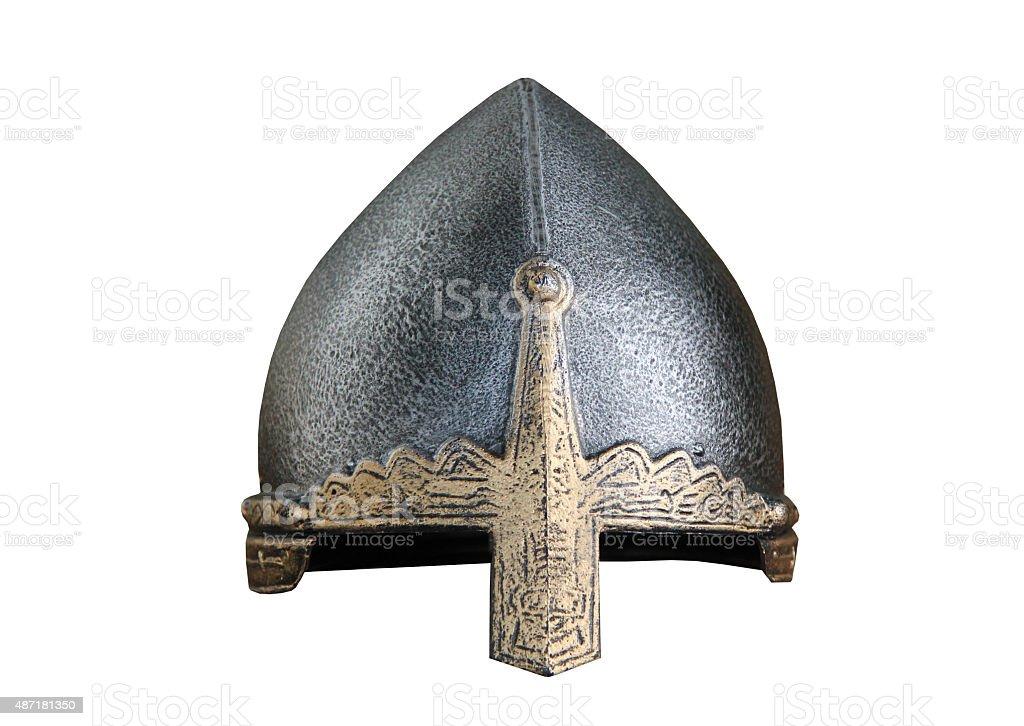 Armour Fighting Helmet. stock photo