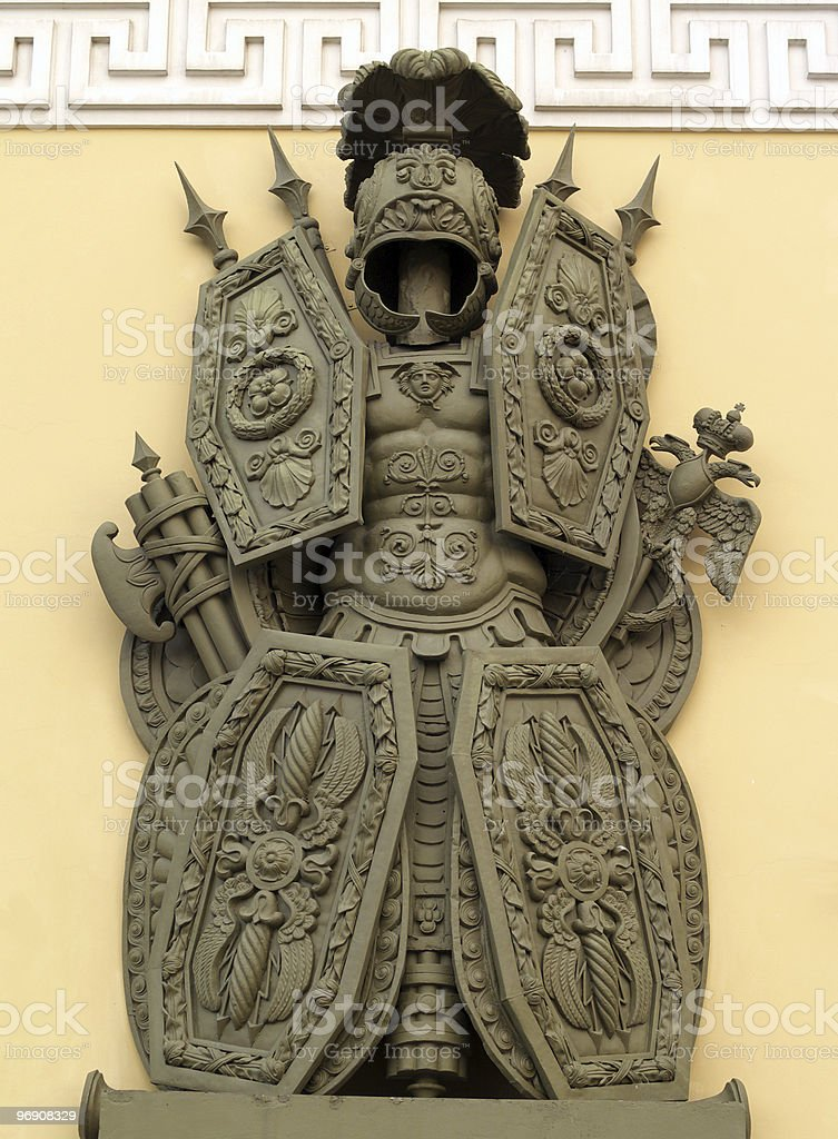 Armoured monument royalty-free stock photo