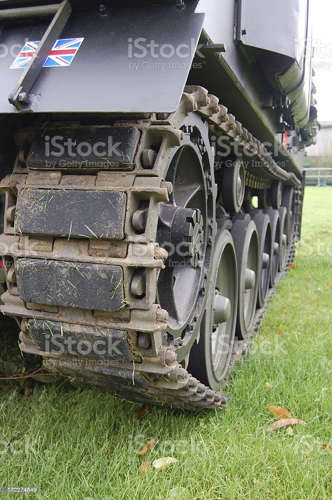 Armoured Vehicle. stock photo
