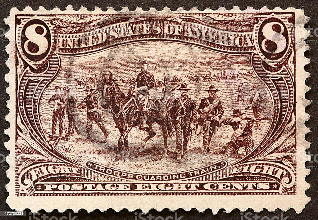 US Army 1898 royalty-free stock photo