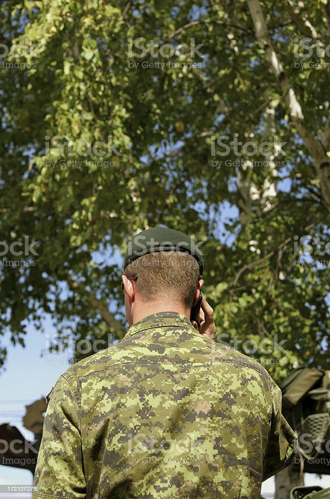 Army call! stock photo