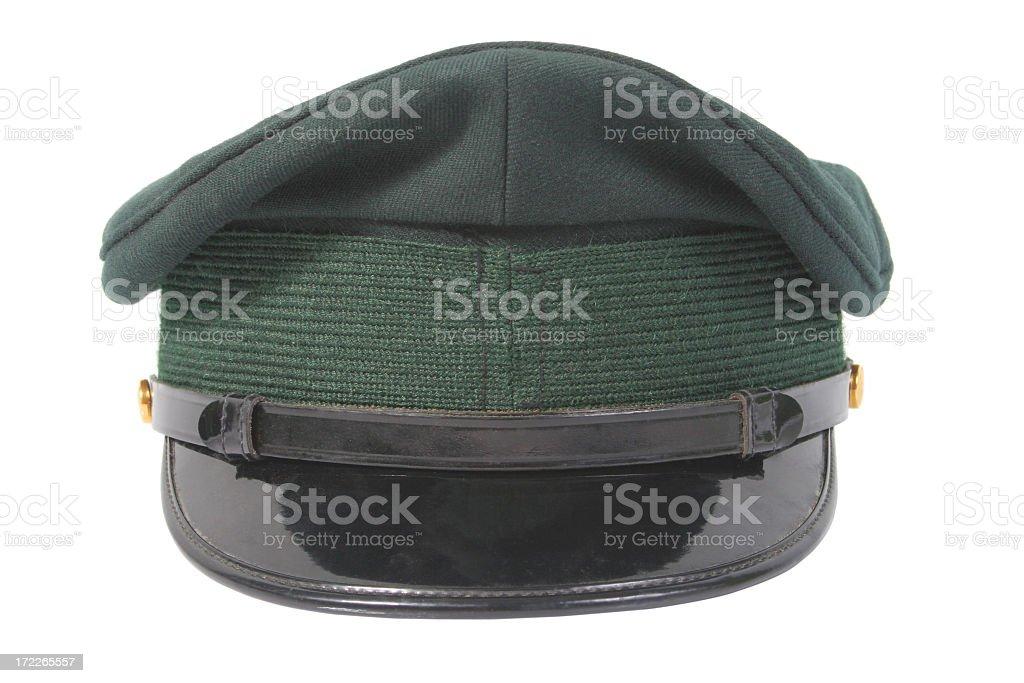 Army cap royalty-free stock photo