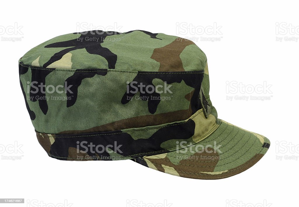Army Cap royalty-free stock photo