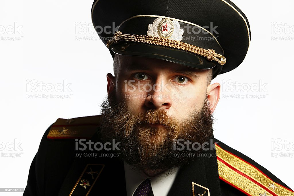 Army Captain royalty-free stock photo
