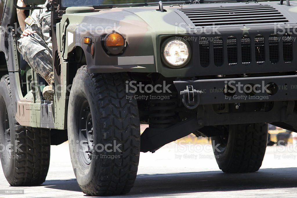Army car royalty-free stock photo