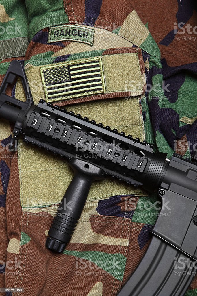 US Army concept stock photo