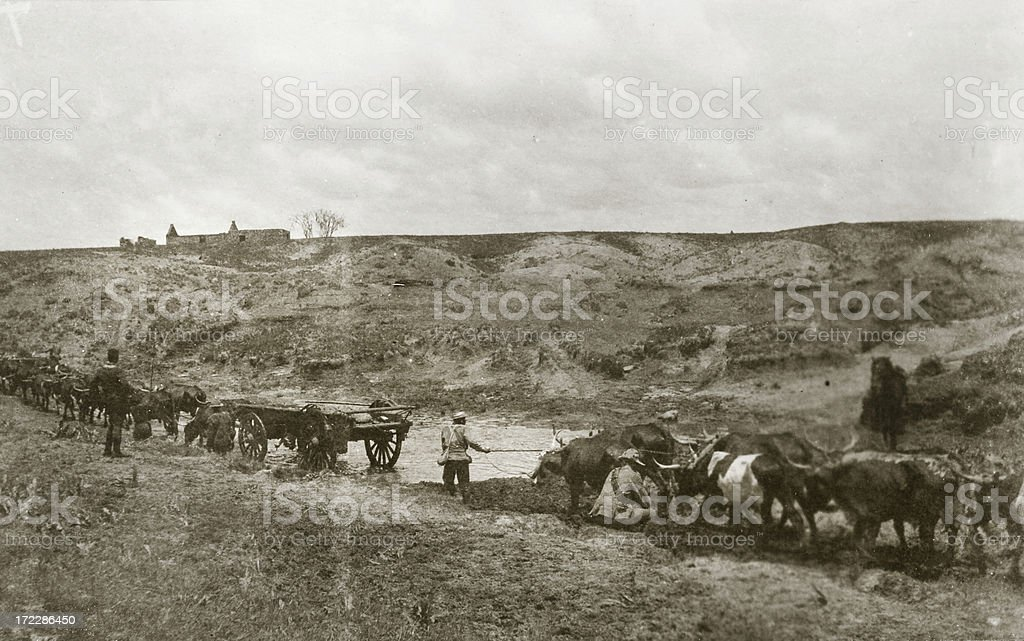 Army convey royalty-free stock photo