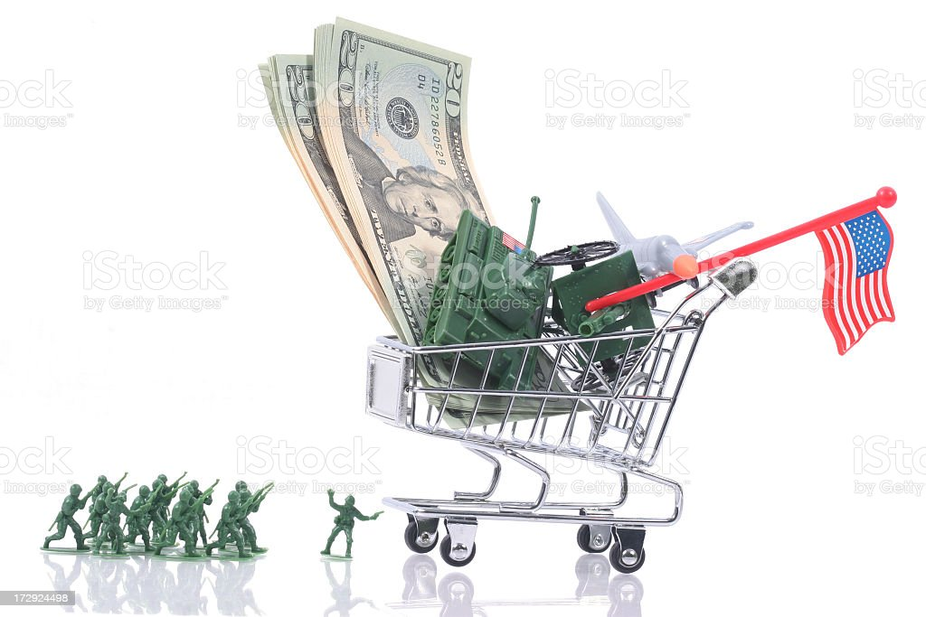 Army cost stock photo