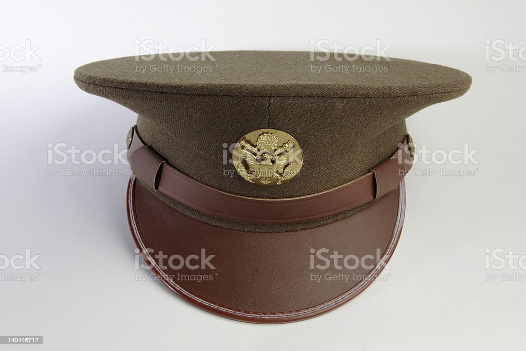 army dress hat royalty-free stock photo